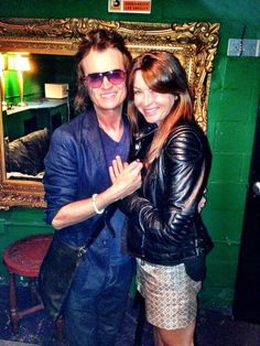 Yours truly and lifelong friend, Suzi Perry, in NYC... Love ya Sooze.