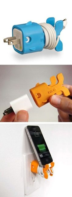 Adorable goldfish charger