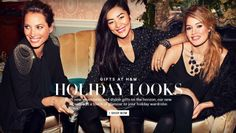 Liu Wen, Doutzen Kroes, Christy Turlington - H&M Holiday 2013 Campaign