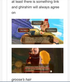 The one thing Link and Ghirahim have in common-- The Legend Of Zelda: Skyward Sword The Legend Of Zelda, Legend Of Zelda Memes, Zelda Skyward, Skyward Sword, Link Zelda, Geeks, Twilight Princess, Princess Zelda, Wind Waker