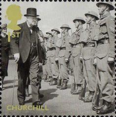 10/5/2015 Oggi è il 75° anniversario della nomina di Winston Churchill a Primo Ministro del Regno Unito. Churchill ispeziona i soldati della Home Guard.