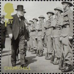Britain Alone 1st Stamp (2010) Churchill
