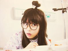 IU in Dream High. Love her bun! Asian Actors, Korean Actresses, Iu Hair, Dream High, Woo Young, Most Beautiful Faces, Korean Street Fashion, Cute Korean, Tween Fashion