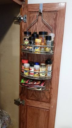 Spices are tricky things to store: Magnetizing them can be expensive, and takes up wall space. Storing them in your cupboards means you'll spend a lot of time digging around in search of the cumin. That's why we love this lifehack from Reddit user LutzExpertTera so much: It's an insanely simple solution to an annoying problem.     - HouseBeautiful.com
