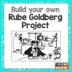 Have your students build their own Rube Goldberg contraption! This is a fun way to end the year or work on during standardized testing weeks. Students have to get a marble to go into a cup with at least 10 steps. The more creative and more complex, the better!