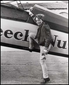 Amelia Earhart ... Of course, in another lifetime I hopefully would have made my destination.