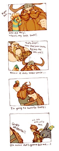 Hunting For Trolls by ~Luce-in-the-sky on deviantART. Sad...just...sad. lol XD