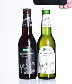 LJUS or MÖRK, what's your beer of choice?     Pop in-store for a cold one this weekend – you can find it at the Swedish Food Market or restaurant...    Maybe see you at our crayfish party for a taste test - http://www.ikea.com/ms/en_GB/ikea_food/offers_and_activities.html    The beers are £1.75/each and you can find more information on IKEA.co.uk - http://www.ikea.com/gb/en/catalog/categories/departments/cooking/16261/