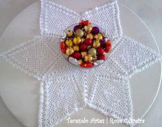 Tejiendo Arte en Crochet: Star PIEZA centro
