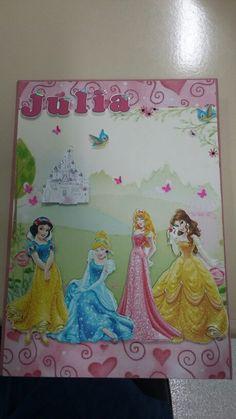 Caderno princesas