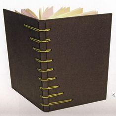 more book binding tips.  una bella interpretazione della Secret Belgina Binding...