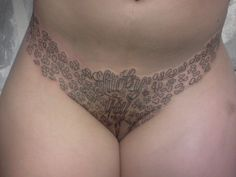 womens tattoos on their pussy