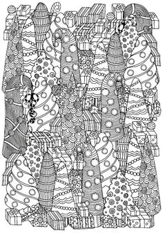 adult coloring pages printable christmas 5 absolutely free beautiful christmas colouring pages adult christmas pages printable coloring. Christmas Mandala, Colorful Christmas Tree, Christmas Colors, Beautiful Christmas, Coloring Pages To Print, Coloring Book Pages, Printable Coloring Pages, Colouring Sheets, Christmas Tree Coloring Page