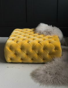 Polly Pouffe at Rose & Grey. Buy online now from Rose & Grey, eclectic home accessories and stylish furniture for vintage and modern living Sofa Furniture, Vintage Furniture, Home Decor Bedroom, Living Room Decor, Shop Interiors, Sofa Design, Armchair, Modern Living, Ottomans