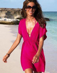 Beach dress Bikini outer blouse