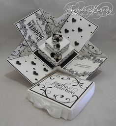 2015 TUTORIAL Wedding Exploding Box Card