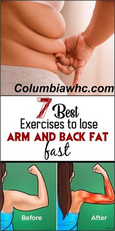 How To Lose Arm and Back Fat in 2 weeks- 7 Awesome Exercises you can't Ignore if. - tips to lose belly fat - Gesunde World Exercise To Reduce Arms, Reduce Arm Fat, Lose Arm Fat, Lose Weight, Ultimate Ab Workout, Best Cardio Workout, Fat Workout, Fitness Workouts, Fitness Motivation