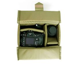 DSLR Camera Insert Partition Padded Protection Bag For Carrying Travel Bag --B30