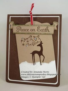 Tagged Dasher CCREW0212HF by mandypandy - Cards and Paper Crafts at Splitcoaststampers