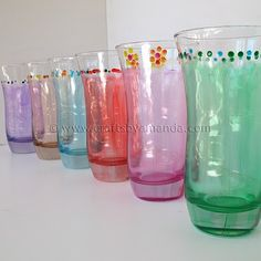 Pretty glasses!!! Always thinking of things for Girl Scouts..this would be a good one!