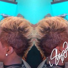 Combination Cut and color @Scissorhappychante - Learn to grow your hair longer click here - http://blackhair.cc/PVCB28