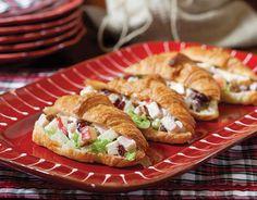 Smoked Turkey Waldorf Sandwiches - TeaTime Magazine