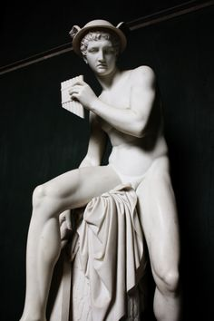 Hermes - The Greek God of Commerce, Travel and Cleverness. Hermes is the son of Zeus and Maia (a Femael Titan). Hermes is the messenger of the Gods and governs over many activities that involve crossing boundaries or exchange (i.e. traveling, commerce, weights & measures, marking territory)