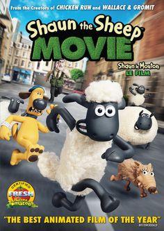 Shaun the Sheep Movie (Bilingual):  Mark Burton, Richard Starzak: DVD