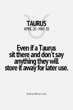 Zodiac Mind - Your source for Zodiac Facts Taurus And Aquarius, Taurus Traits, Astrology Taurus, Zodiac Signs Taurus, Taurus And Gemini, Zodiac Mind, My Zodiac Sign, Taurus Man Taurus Woman, Taurus Quotes
