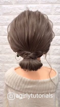 Most Trendy Step By Step Hairstyle Tutorials Part 1 – beautiful hair styles for wedding Step By Step Hairstyles, Easy Hairstyles For Long Hair, Girl Hairstyles, Braided Hairstyles, Party Hairstyles, Easy Upstyles For Medium Hair, Cute Medium Length Hairstyles, Donut Bun Hairstyles, Beautiful Hairstyles