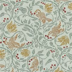 Dollhouse Miniature Green Birds & Berries Wallpaper by Jackson's Miniatures Limited, http://www.amazon.com/dp/B003BQ9RF4/ref=cm_sw_r_pi_dp_qfharb1M2TBDK