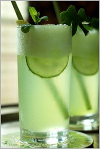 Honey Dew, Cucumber, Mint Mojito