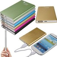 Features: Brand new and high quality. 12000mAh Portable Power Bank High-capacity,provides adequate p