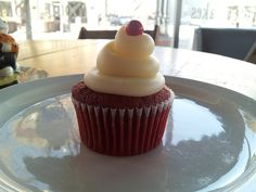 Red Velvet Cupcake by Iowa State University Office of Admissions, via Flickr