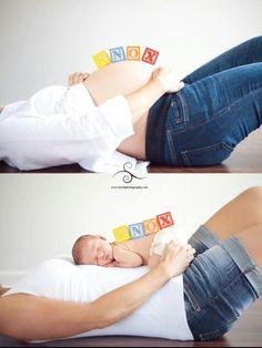 Maternity and newborn photo