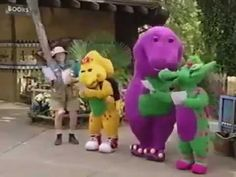 Barney Let's Go to the Zoo Part 1