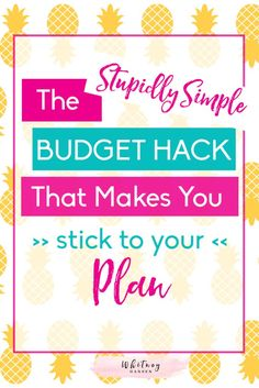 Simple Budget Template Download Budgeting Made Easy  Mint