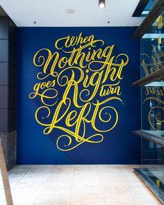 Jess Cruickshank — Sydney Letterer and Illustrator › The Galeries Mural