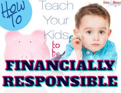 Becoming financially responsible is a sign of adulthood. But it's a skill many adults are learning as children. Here's how to help your kids be financially responsible.http://freefrombroke.com/how-to-teach-your-children-to-be-financially-responsible/