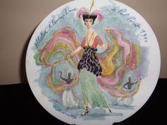 Albertine La Femme Liane Women of The Century by D'Arceau Limoges Plate V