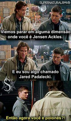 Um dos melhores episodios❤ Supernatural Series, Supernatural Quotes, Jensen Ackles, Netflix, Super Natural, Misha Collins, Series Movies, Superwholock, Tv Shows