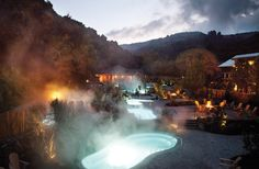 Weekend getaway Refuge hot springs Carmel