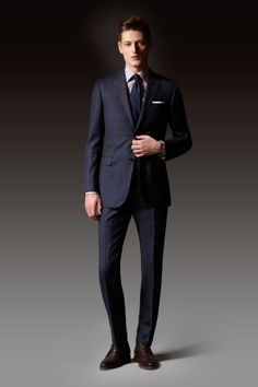 Slim is in. Learn more @ saksoff5th.com/mens-tailored-shop