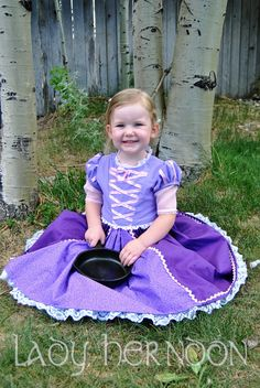 My Fairy Tale Rapunzel Dress from Disney's Tangled  by LadyHerndon, $70.00