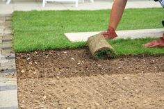 Tips for Soil Preparation Before Laying Sod Garden Beds, Lawn And Garden, Garden Soil, Garden Care, How To Lay Turf, Organic Gardening, Gardening Tips, Gardening Services, Gardening Supplies