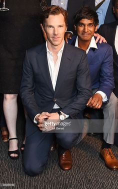 ニュース写真 : Cast members Benedict Cumberbatch and Rudi...