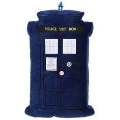 Doctor Who TARDIS Light-Up Pillow
