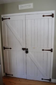 This is absolutely amazing! The perfect solution to our boring, white pantry doors!