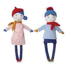 Citta Marcel & Madou Dolls #worthynzhomeware wwworthy.co.nz