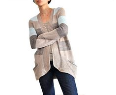 BlueSand Cardigan by La Maison Rililie - Bought this pattern to make for me! :) Now, which Mad Tosh yarn to use. ;)